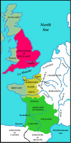 Angevin empire